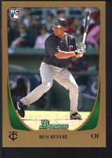 BEN REVERE 2011 BOWMAN #202 GOLD PARALLEL TWINS SP RARE