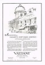 1920s BIG VINTAGE Valiant Decorations Studio 9 Rue de Seine Paris Art Print AD