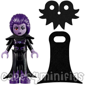 4 CUSTOM capes for Friends DC Eclipso Lego 41239 set minifigures. CAPES ONLY