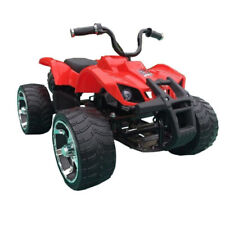 Beach Quad Style Atv Motorbike Electric Kids Ride On Car 24V Battery Red