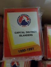 1990-91 Pro Cards AHL CAPITAL DISTRICT ISLANDERS Hockey Team Set Sealed