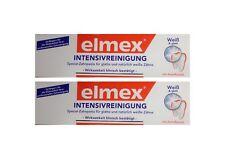 2x ELMEX Intensivreinigung Spezial Zahnpasta 50ml 08794198 Zahncreme