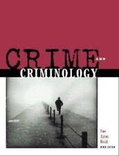 Crime and Criminology - Ninth Edition Sue ,Titus, Reid. No Markings!