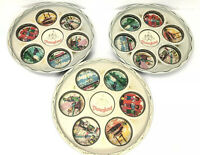 Vintage 1950s DISNEYLAND Tin Drinks TRAY - Bright Disney Graphics, 28cm Diameter