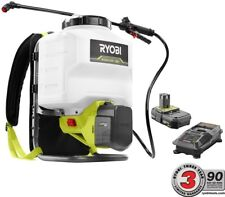 Ryobi Backpack Chemical Sprayer 4-Gal. ONE+ 18-V Cordless Battery Charger