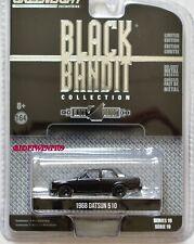 GREENLIGHT 2018 BLACK BANDIT SERIES 19 1968 DATSUN 510