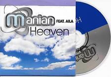 MANIAN ft AILA - Heaven CD SINGLE 5TR Trance 2007 Dutch CARDSLEEVE RARE!