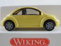 Wiking 03512 VW New Beetle (1997-2005) in hellgelb 1:87/H0 NEU/OVP