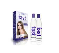 FAST Long Hair Grow Shampoo and Conditioner Best to Boost Growth MEN WOMEN 300ML