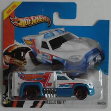 "Hot Wheels - Rescue Duty weiß/blau ""HW Racing"" Neu/OVP"