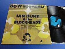 IAN DURY & THE BLOCKHEADS DO IT YOURSELF stiff 79 A2TB3UT wall paper sleeve Lp E