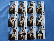 2012 SELECT ETERNITY AFL CARDS CARLTON BLUES BASIC TEAM SET