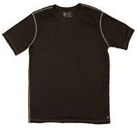 GREENLIGHT APPAREL Men's Short Sleeve Active Running T- Shirt Color: Black Sz: M