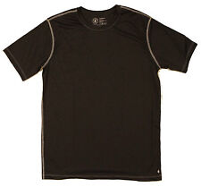 GREENLIGHT APPAREL Men's Short Sleeve Active Running T- Shirt Color: Black Sz: M