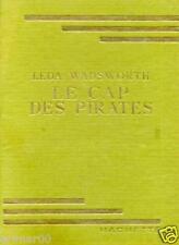 Leda WADSWORTH // Le cap des pirates // 1952 // Bibliothèque Verte