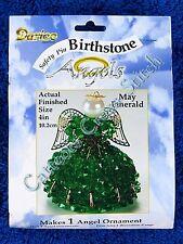 Angel Birthstone Bead Kit #05 May / Emerald