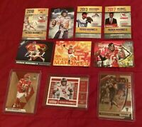 "10x PATRICK MAHOMES II RC LOT 2017 ""GAME DAY"" MOSAIC, PRIZM DRAFT P~CUSTOM BIN!!"