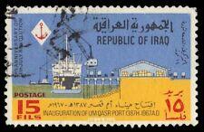 "IRAQ 441 (Mi490) - Inauguration of the Port of Um Qasr ""Freighter"" (pa66579)"
