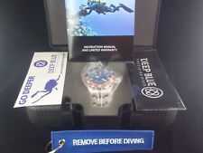DEEP BLUE DAYNIGHT TRITDIVER T-100 AUTOMATIC RED BLUE PEPSI BEZEL TRITIUM NWT