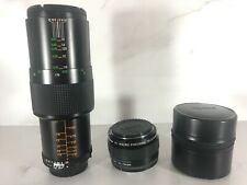 Vivitar 90mm f/2.5 Macro Telephoto MC lens,NIKON AI mount *KOMINE*+teleconverter