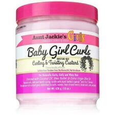 Aunt Jackie's Baby Girl Curls Custard Curling and Defining Custard 15oz