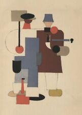 Deux travailleurs, 1923, Vladimir Lebedev vintage propagande russe Poster