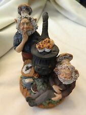 1993 Smithshire Muff And Berry Baking Gnome #7317 - Usa - Cindy Smith