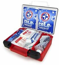 First Aid Supply Kit 250 Pcs Quick-Access, Organized, Survival-Ready, Compact