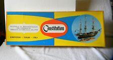 AEROPICCOLA USS CONSTITUTION WOODEN MODEL SHIP KIT NIB