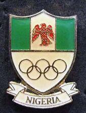 1980s rare NIGERIA Olympic NOC Delegation Team pin