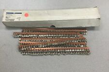 NEW BOX OF 10 TELEMECANIQUE COMMONING LINK WITH SCREW 6MM2 BLOCK JUMPER AB1AL6