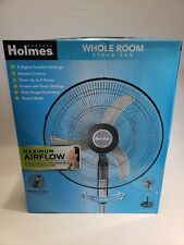 "Holmes Whole Room Stand Fan, 18"" Blade, Includes Remote NEW FREE SHIPPING"