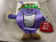 Purple leopard shop til you drop xmas Little miss Naughty Christmas stocking