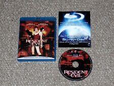 Resident Evil Blu-ray 2008 Canadian Milla Jovovich Michelle Rodriguez