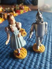 Wizard of Oz 2 Dorothy Tinman Figure Figurine Cake Topper Turner Loews 80s