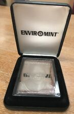 Michael Jordan EnviroMint Commemorative 3.5 Troy Ounce .999 Fine Silver Card '96
