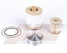 03-07 Ford 6.0L Powerstroke Diesel Truck Billet Fuel Filter Cap & OEM Filter