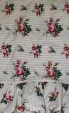 2pc Set Excellent Ralph Lauren Marseilles Beige Stripe King Pillowcases