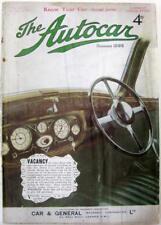 The AUTOCAR 7 Jan 1938 Original Motoring Car Magazine Dodge 26 HP