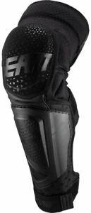 Leatt 3DF Hybrid EXT Knee & Shin Guards Motocross Offroad Pair / New - Open Box