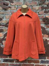 Vintage1960s 1970s Orange Knit Jacket Butte Knit Blazer Hipster Mod S, M