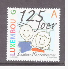 Luxembourg MNH 2009 Children's Houses of the State Mint stamp