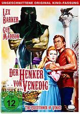 DER HENKER VON VENEDIG Uncut LEX BARKER The Exicutioner Of Venice DVD Neu
