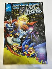 Marvel Universe Cosmic Powers Unlimited Silver Surfer #4 '95