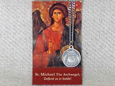 St. Michael, Patron Saint of Police Officers, Medal, Chain & Refrigerator Magnet