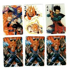 DBZ Dragon Ball Z Foil Cover Poker Playing Card Deck Rare OOP Brand New