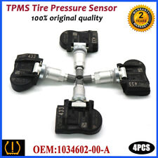 4PCS 103460200A TPMS OEM Tire Pressure Sensors 433MHz Fits For Tesla Model 3 S X