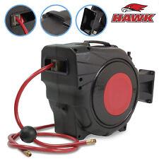 20 Metre 65ft Pro Workshop Garage Retractable Air Compressor Hose Line Reel