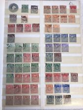 British Stamps from 1867-1973 in a 16 page stamp album