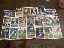 Lot of Topps 20 MLB Baseball Cards 1994 Cards Pedro Martinez Kent Mussina more